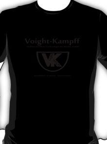 Voight Kampff - Offworld Colonies [blackblack iteration] T-Shirt