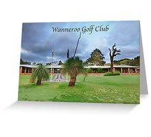 Wanneroo Golf Club greeting cards 2012 Greeting Card