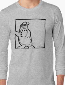 Penguin Black Long Sleeve T-Shirt