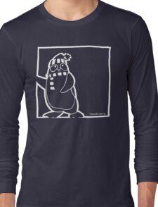 Penguin White Long Sleeve T-Shirt