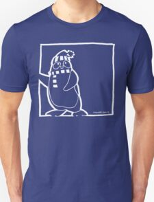 Penguin White Unisex T-Shirt