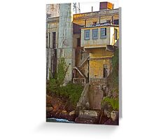 Alcatraz Prison - Wardens Landing - San Francisco Greeting Card