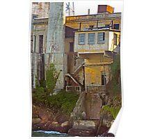 Alcatraz Prison - Wardens Landing - San Francisco Poster