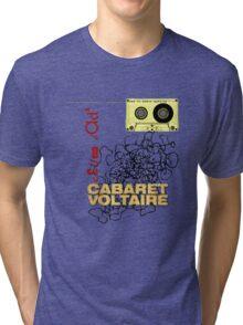 club dada - cabaret voltaire [tape spaghetti] Tri-blend T-Shirt