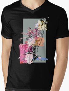 Nik the Fury Mens V-Neck T-Shirt