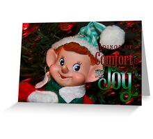 Elf Joy Greeting Card