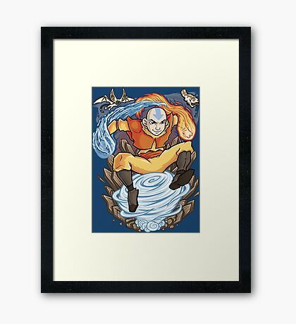 Avatar of the Air Nomads Framed Print