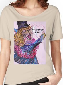Broadway BABY CAT Women's Relaxed Fit T-Shirt