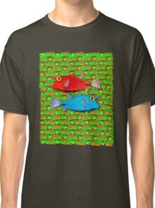 red fish - blue fish Classic T-Shirt