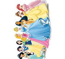 Disney Princesses by yuyi472