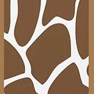 Brown Giraffe - Iphone Case  by sullat04