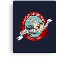 Moose Milk (Full Colour) Canvas Print