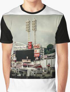Great American Ball Park 2 - Cincinnati Graphic T-Shirt