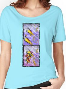 space ship invasion - jetpack squadron Women's Relaxed Fit T-Shirt