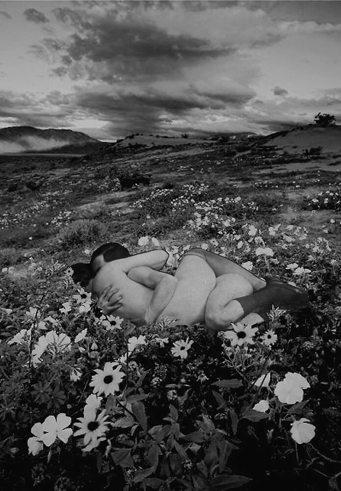 lovers in a field by Loui  Jover
