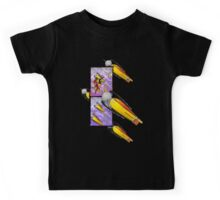 space ship invasion squadron Kids Tee