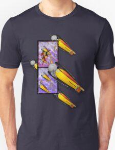 space ship invasion squadron Unisex T-Shirt