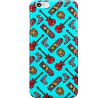 Back to the Future Pattern iPhone Case/Skin