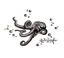 Sean Randall's Sea Monster by Katie Faile