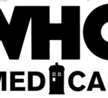Who Medical Sticker