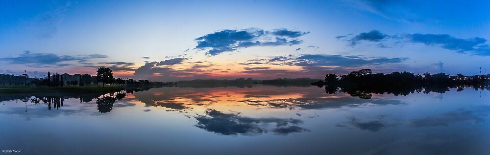 Reflective Dawn by Kelvin Won