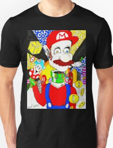 Mario having some of his own medicine Unisex T-Shirt