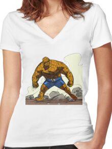 Ever Lovin' Women's Fitted V-Neck T-Shirt