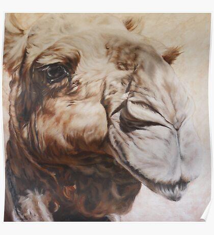 Anna: Oil on Linen: 90x90cm Poster