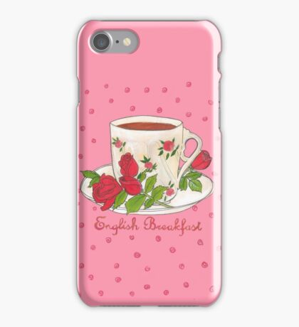 English Breakfast Tea iPhone Case/Skin