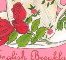 English Breakfast Tea Sticker