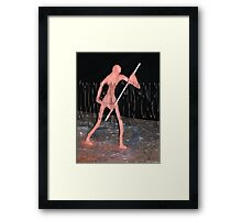 The Ferryman4 - By Chris Henley Framed Print