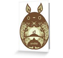 Totoro time Greeting Card