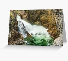 Cascade Falls on the Kettle River Greeting Card