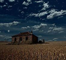 Burra Ruin, Clouds and Stars by pablosvista2