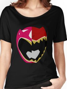 Pink N Red - Dino Charge Women's Relaxed Fit T-Shirt