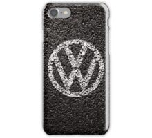 VW Volkswagen Logo - Paint on Tarmac Iphone Case / Cover iPhone Case/Skin