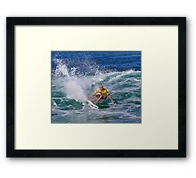 The Art Of Surfing In Hawaii 19 Framed Print