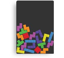 Tetris Error Canvas Print