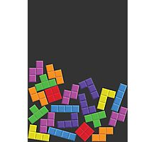 Tetris Error Photographic Print