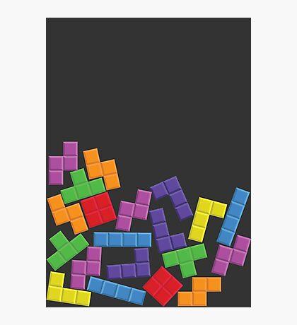 Tetris Error Photographic Print