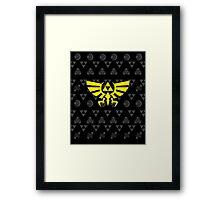 Zelda mix Framed Print