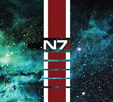 N7 Galaxy Armor Stripe by BPPhotoDesign