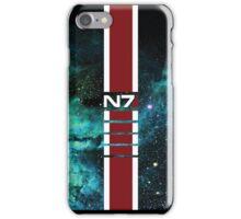 N7 Galaxy Armor Stripe iPhone Case/Skin