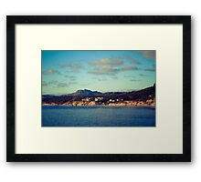 Coastal Beauty Framed Print
