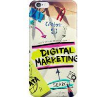 Digital Marketing Art iPhone Case/Skin