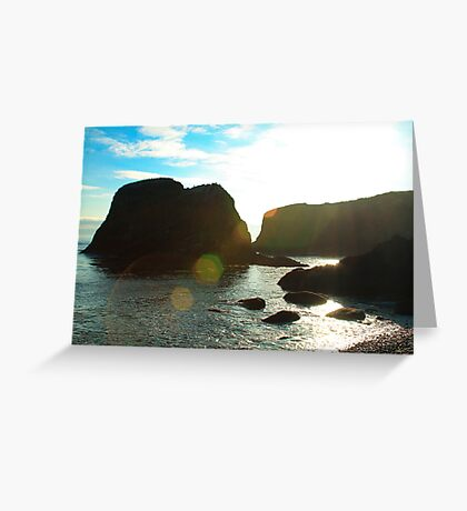 Sunflare Rock Greeting Card