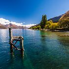Queenstown Lake Scenes by doug hunwick