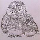 Friendship owls by Krissy  Christie