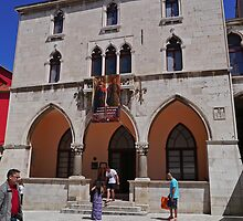 City Hall, Old Town, Split, Croatia by Margaret  Hyde