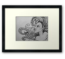 Abstract girl Framed Print